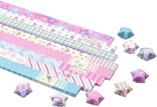 Handcraft Origami Lucky Star Paper Strips Paper Origami Paper ... | 359x522