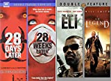 What, Were They Psychos? Nope... Zombies: 28 Days Later/ 28 Weeks Later + The Book of Eli/ I Am Legend (4 DVD ZOMBIE APOCALYPSE Set)