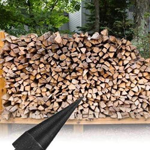 LKK-KK Printer Parts Hex Shank Firewood Splitter Machine Drill Wood Cone Reamer Punch Driver Drill Bit Split Drilling Tools