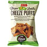 Chicpea & Lentille Cheeze Puffs Chili Limon12 x 100 g - Gluten Free, Non-GMO, Vegan