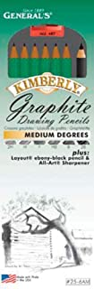 product image for General Pencil Kimberly Graphite Drawing Pencil Set, Medium°