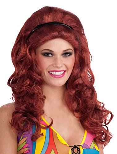 Forum (Red Bouffant Wig)