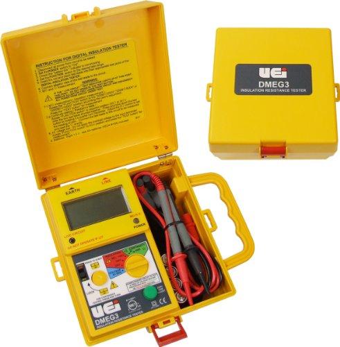 UEi Test Instruments Dmeg3 Digital Insulation Resistance Tester by UEi Test Instruments