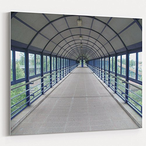 Westlake Art - Architecture Bridge - 16x20 Canvas Print Wall Art - Canvas Stretched Gallery Wrap Modern Picture Photography Artwork - Ready to Hang 16x20 Inch (2CBB-B3969) (Internal Graphics Transfer)