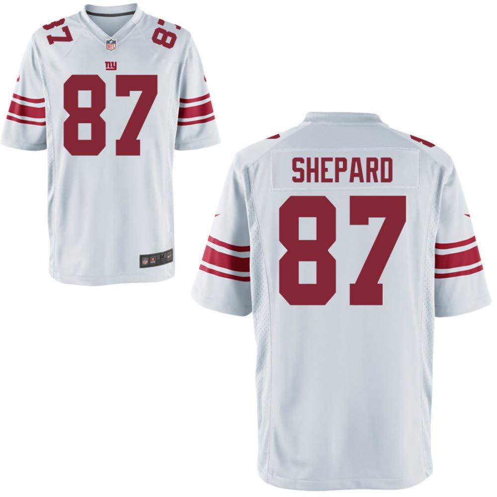 Mens Sterling Shepard Jersey Giants No 87 White Game Jerseys (XXXL) by MTTFA