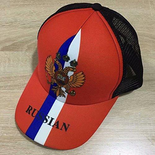 Rusia de Gorra Un Ventilador Gorra de de Regalo Gorra de Ventilador Sol Rusia Sombrero Copa de de Tamaño de Mundial Fútbol wei de Gorra Tenis Montaña ABgqqwU