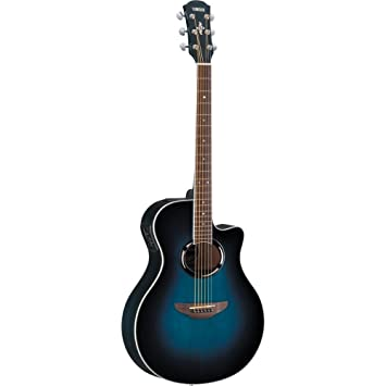 Guitarra eléctrica acústica Yamaha APX500II (Oriental azul Burst ...