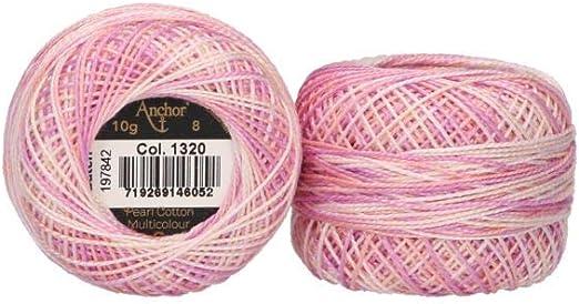 Anchor - Hilo para bordar, 8 unidades, multicolor, 100 % algodón ...