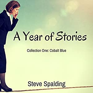 A Year of Stories: Cobalt Blue Audiobook