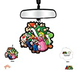 video game car air freshener - JUST FUNKY Super Mario Bros. OFFICIAL Classic Air Freshener - New Car Scent