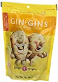 Ginger People Gin Gins Ginger Hard Candy - Bag, 3 Ounce - 24 per case.