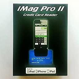iMag Pro II - Mobile MagStripe Reader for iPhone, iPad, iPod Touch LIGHTNING CONNECTOR IDMR-AL30133