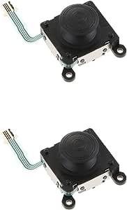 Baosity 2Pcs 3D Analog Joystick Sticks Replacement Part Compatible With Sony PS Vita PSV 2000