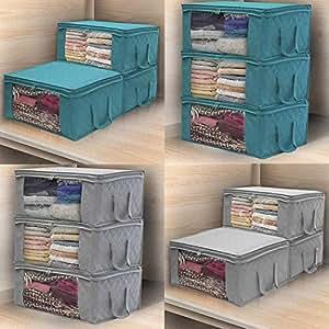 Home Kitchen Dimandar Durable Print Quilt Storage Bag