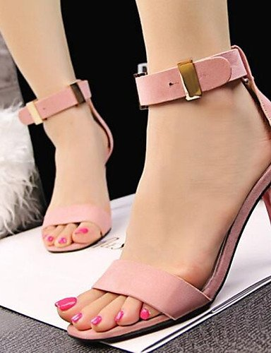 ShangYi Womens Shoes OL Style Fashion Simple Stiletto Heels Comfort Sandals Office & Career / Dress More Colors Can Available Black
