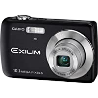 Casio EX-Z33BK 10.1MP Digital Camera with 3x Optical Zoom and 2.5 inch LCD (Black) Overview Review Image