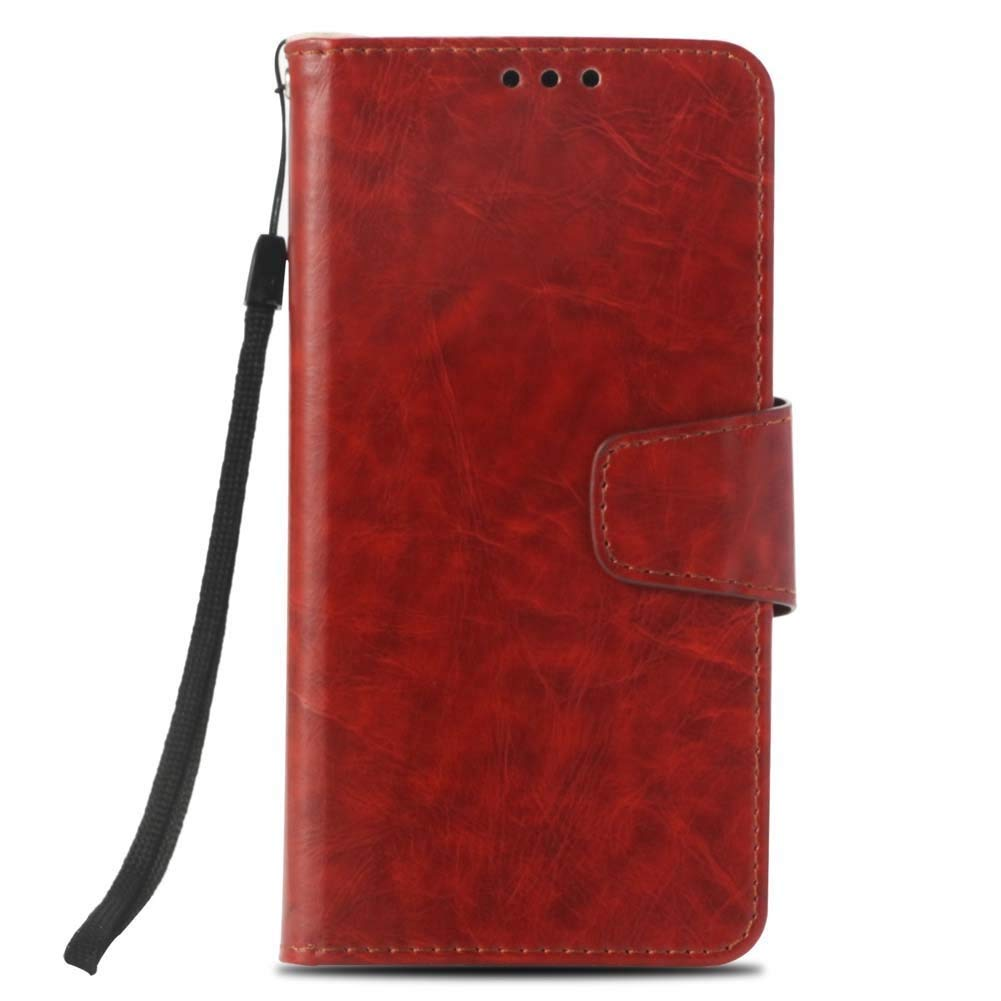 P20 Pro Phone Case Cover (6.1 inches), Katech PU Leather Flip Wallet Case [Built-in Card Slots] [Shock Absorption] Foldable Phone Protection Purse Pouch Cover for Huawei P20 Pro + 1 x Phone Kickstand