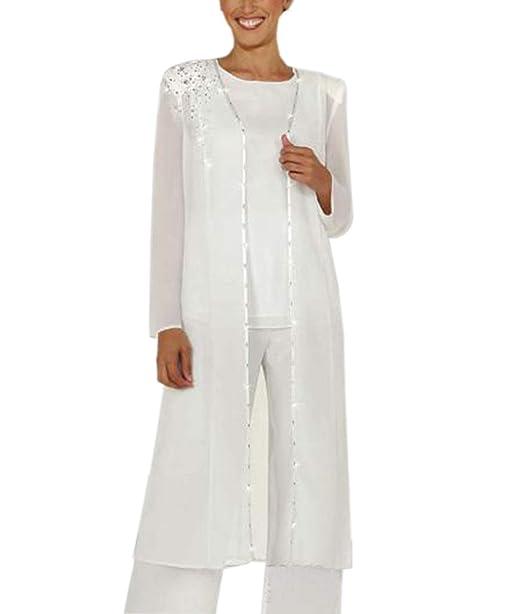Amazon.com: 3 piezas de chaqueta de gasa formal para la ...