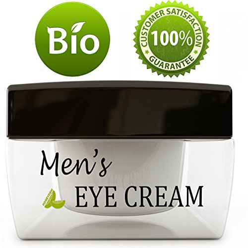 Price comparison product image Natural Eye Cream for Men – Best Mens Treatment for Puffiness - Dark Circles and Wrinkles with Calendula and Sesame - Anti Aging Benefits and USA Made
