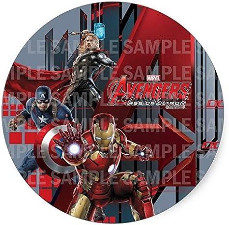 Admirable Avengers Iron Man Ironman Birthday Edible Image Photo 8 Round Funny Birthday Cards Online Fluifree Goldxyz