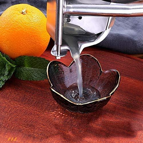 Exprimidor de limón y limón de acero inoxidable 304 irrompible