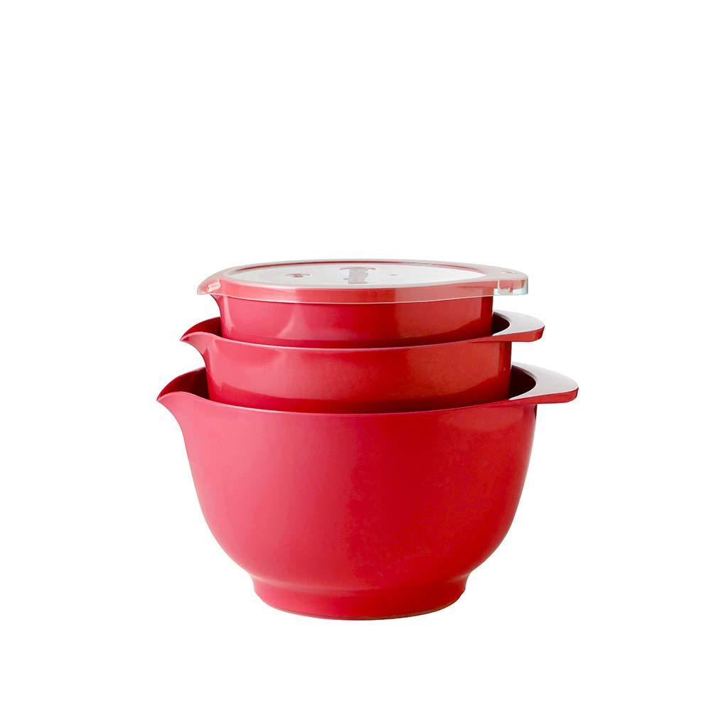 Rosso Colore Rosti Mepal Margrethe Ciotola con Coperchio