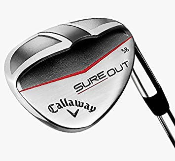 Amazon.com: Callaway Sure Out Wedge 58 - Palo de golf ...