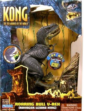 Kong the 8th Wonder of the World Roaring Bull V-rex ( Ravager Lizard King )