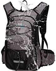Mubasel Gear Insulated Hydration Backpack Pack with 2L BPA Free Bladder - Keeps Liquid Cool up to 4 Hours – for Running, Hiking, Cycling, Camping