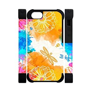 Canting_Good Dragonflies Custom Dual-Protective 3D Polymer Case Shell Skin for IPhone 5