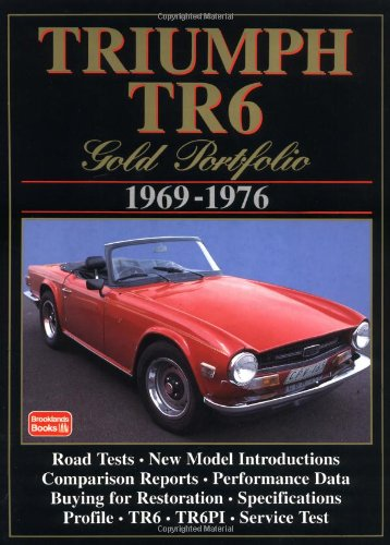 Triumph TR6 1969-76 Gold Portfolio