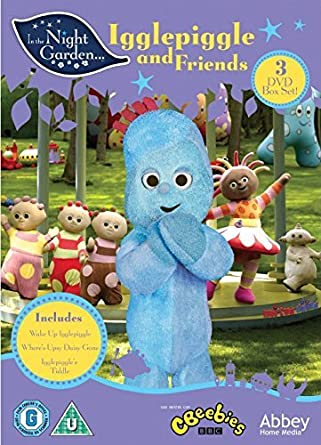 El jardín de los sueños / In The Night Garden: Igglepiggle & Friends - 3-DVD Box Set In the Night Garden… Origen UK, Ningun Idioma Espanol: Amazon.es: Derek Jacobi, Nick Kellington, Andy