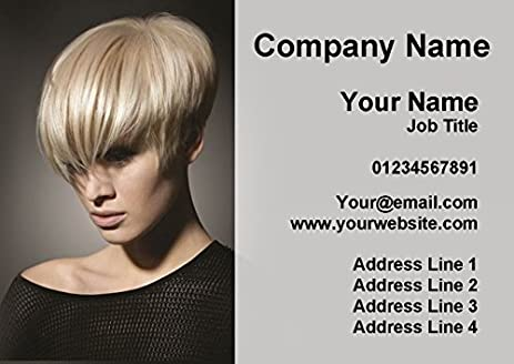 Amazon Hair Stylist Salon Hairdresser Personalized Business