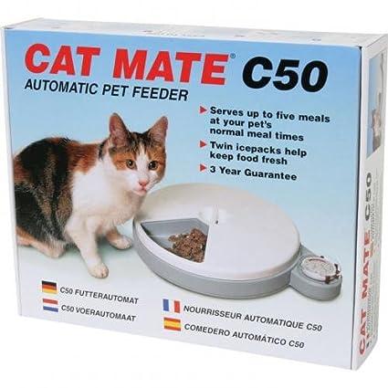 Dispensadores gato – Dispensador de comida para gato Cat Mate C 50