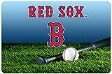 GameWear Boston Red Sox Baseball Pet Bowl Mat, Large
