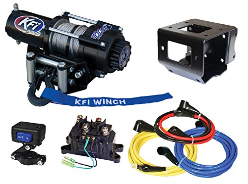 KFI Combo Kit - A2500-R2 Winch & Mount Kit - 2014-2018 Polaris Sportsman 570