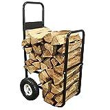 Sunnydaze Firewood Log Cart, Log Cart ONLY