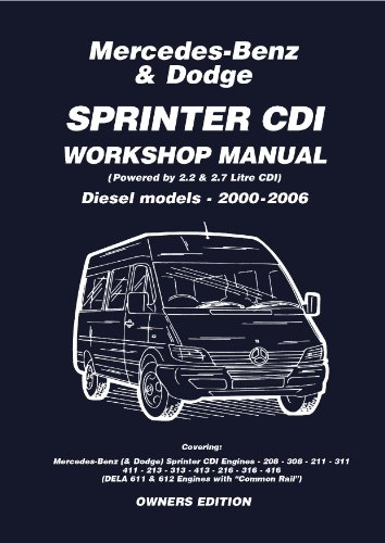 Mercedes benz dodge sprinter cdi 2000 2006 owners workshop manual mercedes benz dodge sprinter cdi 2000 2006 owners workshop manual by pr pub fandeluxe Image collections