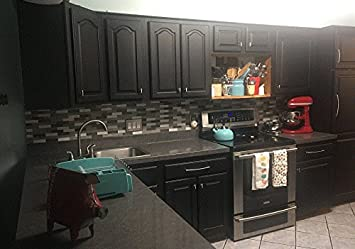 Grey Soapstone Marble Look Peel And Stick Countertop Backsplash NO Paint  When You Can Peel U0026