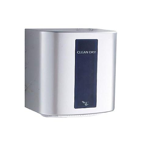 GCHOME Secadores de Mano Secador de Manos, secador de Mano de Alta Velocidad del Hotel