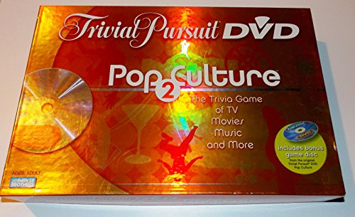 2 To 6 Players. - Trivial Pursuit - Dvd Pop Culture 2Nd Edition