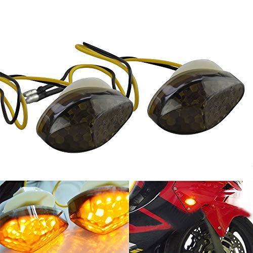 FLYPIG LED Flush Mount Front Turn Signals Light For Honda CBR 600RR 1000RR 2004-2007