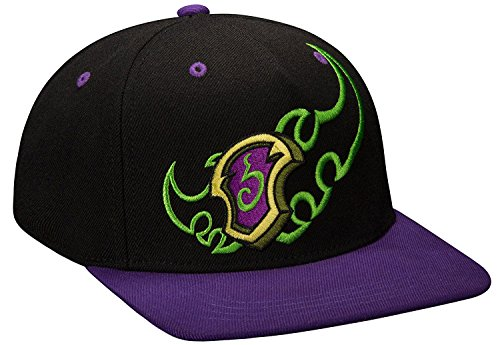 JINX World Of Warcraft: Legion Demon Hunter Snapback Baseball Hat