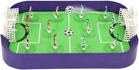 El juego de fútbol deportivo está hecho de plástico ABS, que es suave y sin rebabas. El material seg