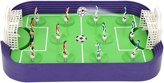 Mini Campo de fútbol Juego de Mesa de expulsión Interactivo Entre Padres e Hijos Juguetes de fútbol para niños Juguete Dedo a acción Competitivo para Oficina Familiar: Amazon.es: Hogar