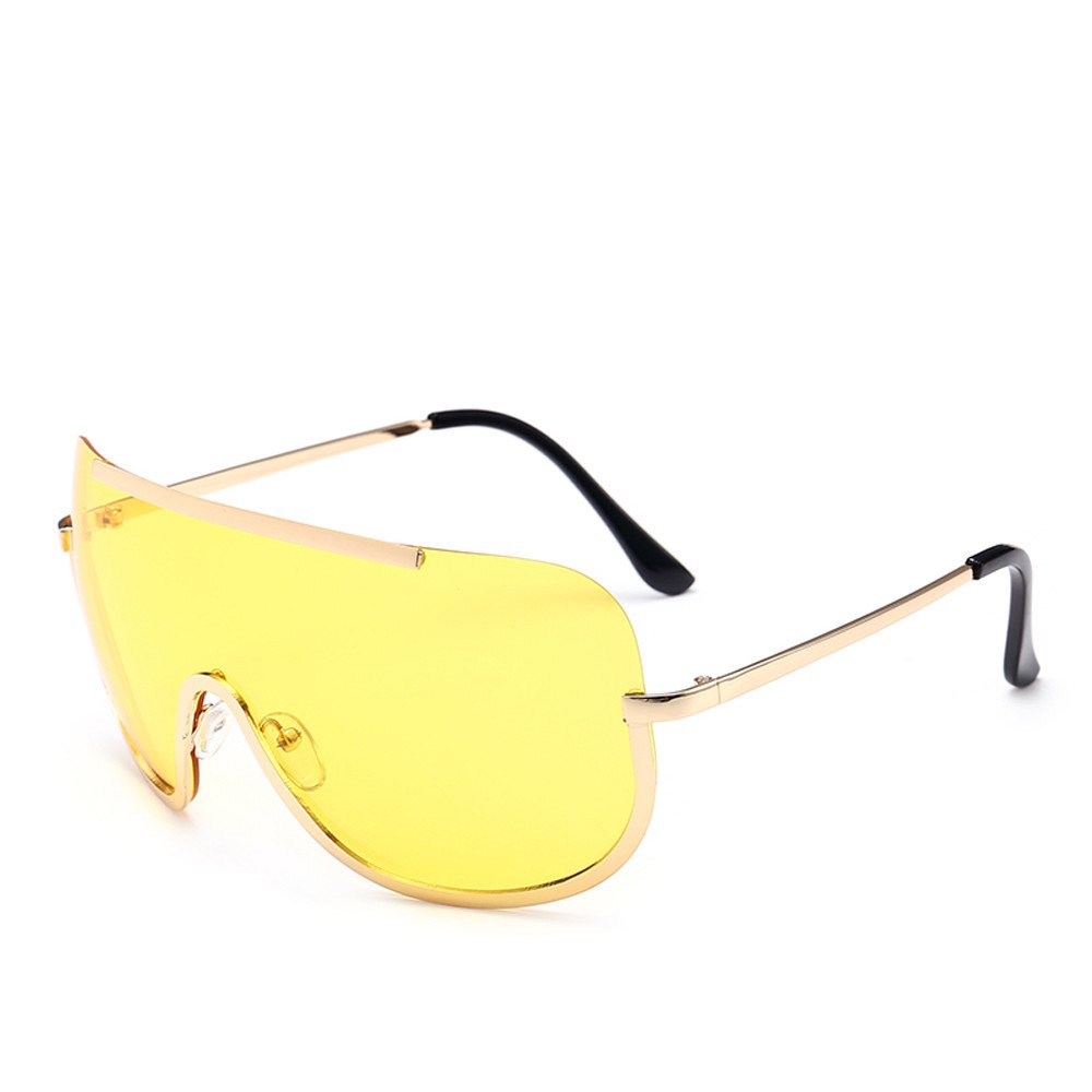 0730be140 Amazon.com: Halfbye Classic Aviator Mirrored Flat Lens Sunglasses Metal  Frame - Unisex Shooting Glasses Cycling,Driving,Hiking,Fishing,Hunting:  Everything ...
