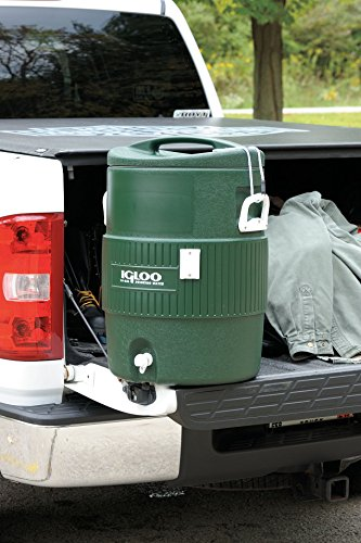 Igloo Beverage Cooler, 10 gal, Green