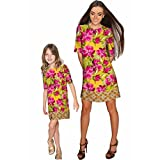 Derby Clothes Indian Summer Grace Shift Floral Mother and Daughter Dress