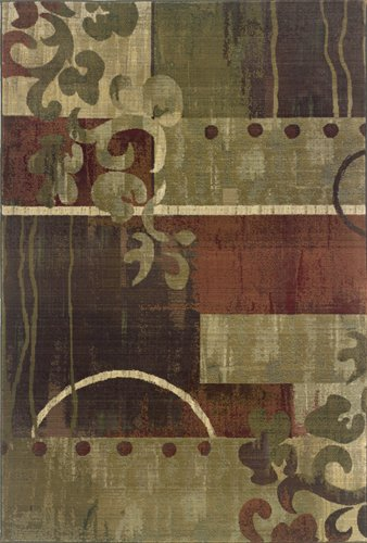 Generations 8007A Abstract Area Rug
