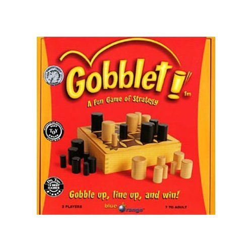 Gobblet! A Game of 4-in-a-row Strategy (Goblet Board Game)